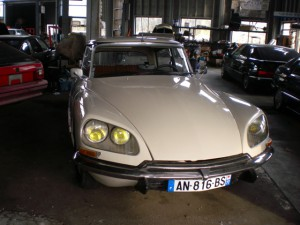1971 citroen ds d super modern supply garage for Garage ds auto ouistreham